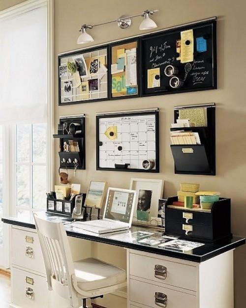 20 оригінальних ідей зберігання необхідного на робочому місці