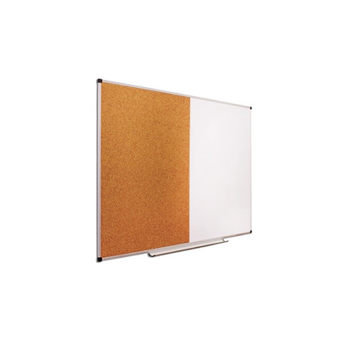 Дошка комбінована маркерна/коркова, 200х100 см