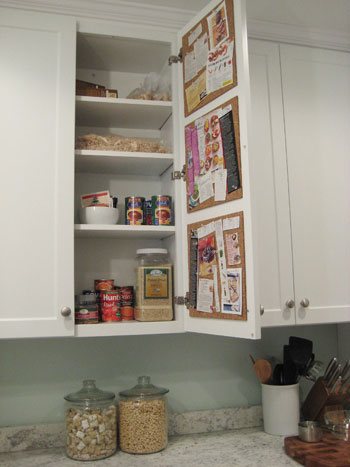 Секрети використання  коркових дошок на кухні